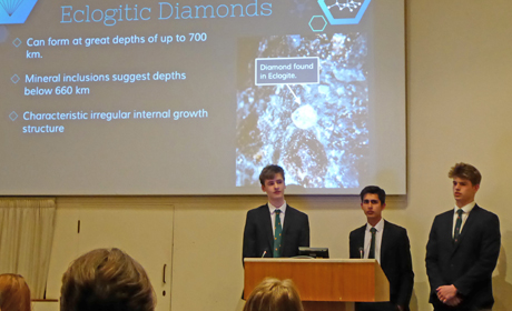 Altrincham Grammar School: <em>Diamonds: Secrets of the Earth</em>