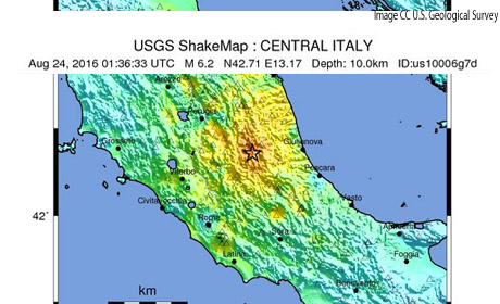 Italy Earthquake August 2016