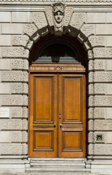 Burlington House Door